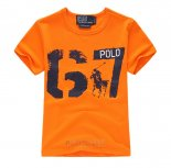 Ralph Lauren Enfant T-shirt 67 Orange