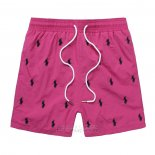 Ralph Lauren Homme Multi Pony Shorts Lacing Rose