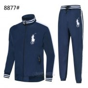 Ralph Lauren Homme Polo 8877 Ensemble Survetement Bleu Sombre