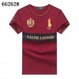 Ralph Lauren Homme Pony Polo 66262 Courte T-Shirt Rouge
