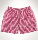 Ralph Lauren Homme Shorts Lacing Mesh Polo Fonce Rose