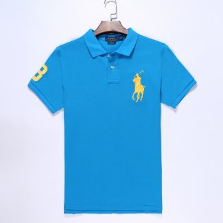 Ralph Lauren Homme Pony Polo Azur Or