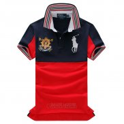 Ralph Lauren Homme Pony Polo Stripe 1967 Blanc Rouge