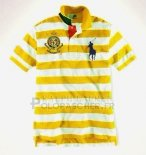 Ralph Lauren Homme Pony Polo Stripe Polo Jaune4
