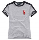 Ralph Lauren Enfant Pony Polo T-shirt Gris2