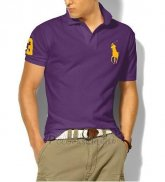 Ralph Lauren Homme Classic Fit Pony Polo Or Logo Volet
