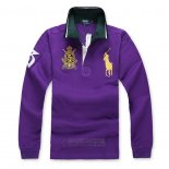 Ralph Lauren Homme Polo Manches Longues Pony Polo Volet