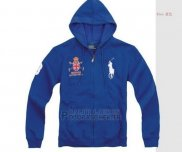 Ralph Lauren Homme Sweatshirts Pony Polo Full Zip Bleu