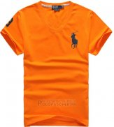 Ralph Lauren Homme T-shirt Pony Polo Orange