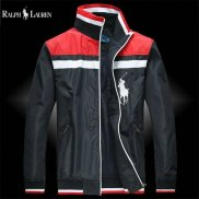 Ralph Lauren Homme Polo Vestes Full Zip Noir Rouge