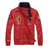 Ralph Lauren Homme Vestes Zip Pony Polo 1967 Rouge