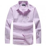 Ralph Lauren Homme Largo Chemise Colorful Mesh Polo Clair Rosa Ad01