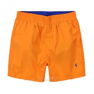 Ralph Lauren Homme Shorts Mesh Polo Orange