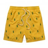 Ralph Lauren Homme Multi Pony Shorts Lacing Bright Jaune