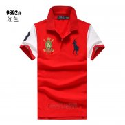 Ralph Lauren Homme Pony Polo Rouge4