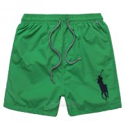 Ralph Lauren Homme Shorts Lacing Pony Polo Vert
