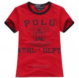 Ralph Lauren Enfant T-shirt Athl Dept Rouge