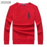Ralph Lauren Homme Pony Polo 20202 Longue T-Shirt Rouge