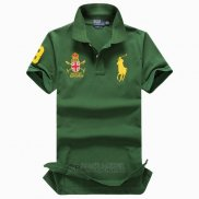 Ralph Lauren Homme Pony Polo Rl Polo Team Vert Or