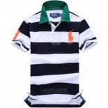 Ralph Lauren Homme Pony Polo Stripe Polo Noir