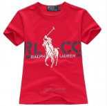 Ralph Lauren Enfant T-shirt Rlco Rouge