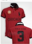 Ralph Lauren Homme City Polo 3 Chicago Rouge