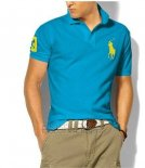 Ralph Lauren Homme Classic Fit Pony Polo Or Logo Lake Bleu