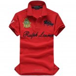 Ralph Lauren Homme Match Polo Rouge1