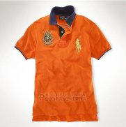Ralph Lauren Homme Pony Polo Orange