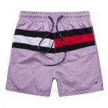 Ralph Lauren Homme Shorts Lacing Stripe Rouge Lila
