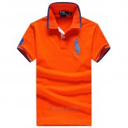 Ralph Lauren Homme Pony Polo Orange2