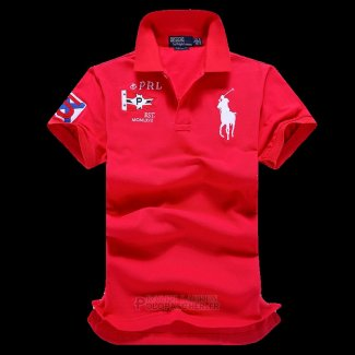 Ralph Lauren Homme Pony Polo Prl Rouge
