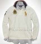Ralph Lauren Homme Pull Pony Polo Blanc