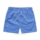 Ralph Lauren Homme Shorts Lacing Mesh Polo Bleu1