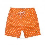 Ralph Lauren Homme Shorts Mesh Polo Orange1
