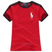 Ralph Lauren Enfant Pony Polo T-shirt Rouge2