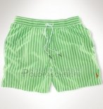 Ralph Lauren Homme Shorts Lacing Mesh Polo Clair Vert