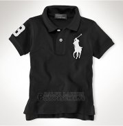 Ralph Lauren Enfant Pony Polo Noir