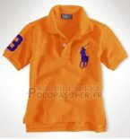Ralph Lauren Enfant Pony Polo Orange