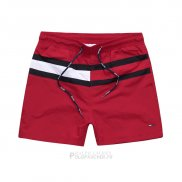 Ralph Lauren Homme Shorts Lacing Stripe Rouge