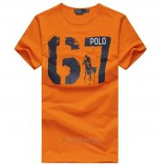 Ralph Lauren Homme T-shirt Number 67 Orange