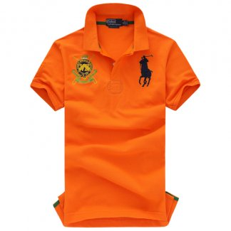Ralph Lauren Homme 9003 Pony Polo Orange