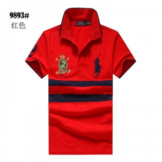Ralph Lauren Homme 9893 Pony Polo Rouge