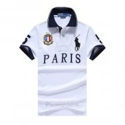Ralph Lauren Homme City Polo 5 Paris Blanc