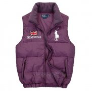 Ralph Lauren Homme Gilet Matelasse Pony Polo Flag Great Britain Volet