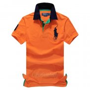 Ralph Lauren Homme Pony Polo Orange3