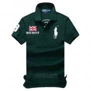 Ralph Lauren Homme Flag Polo Great Britain Vert
