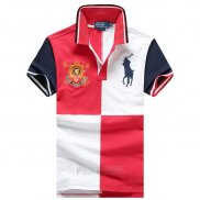 Ralph Lauren Homme Pony Polo Prl 1996 Rouge Blanc