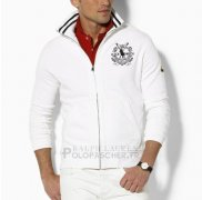 Ralph Lauren Homme Vestes Black Watch Polo Blanc