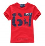 Ralph Lauren Enfant T-shirt 67 Rouge